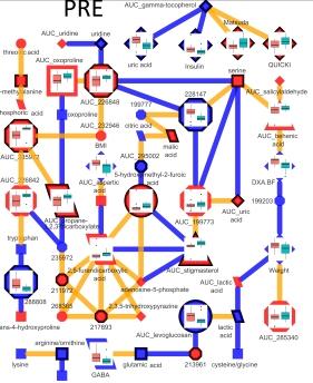 PLS-DA NETWORK