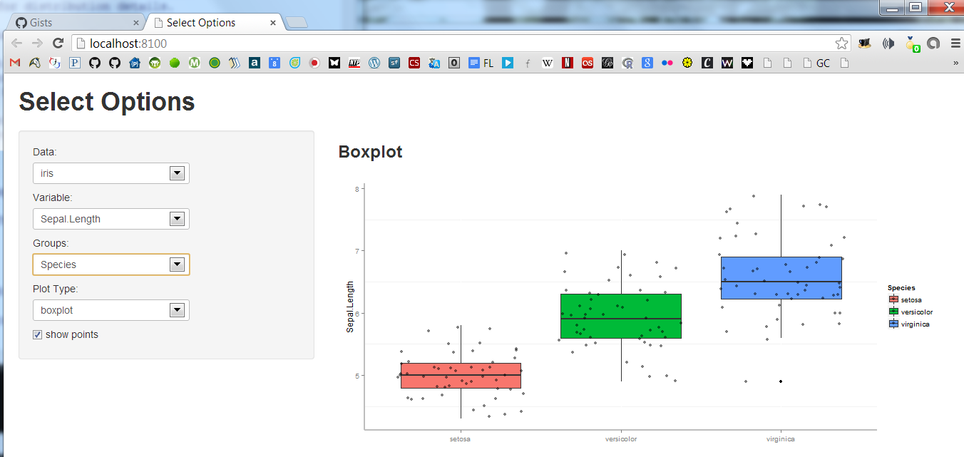 how to make a boxplot in word
