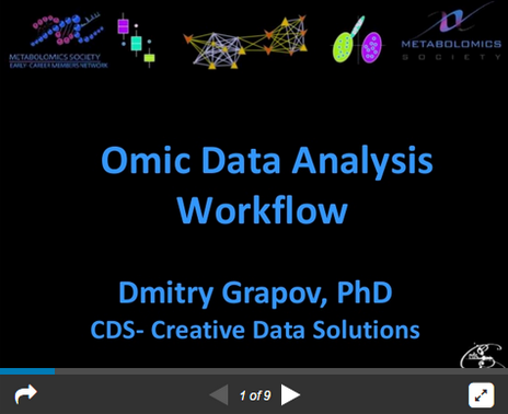 Data Analysis Workflow: 'Omics style